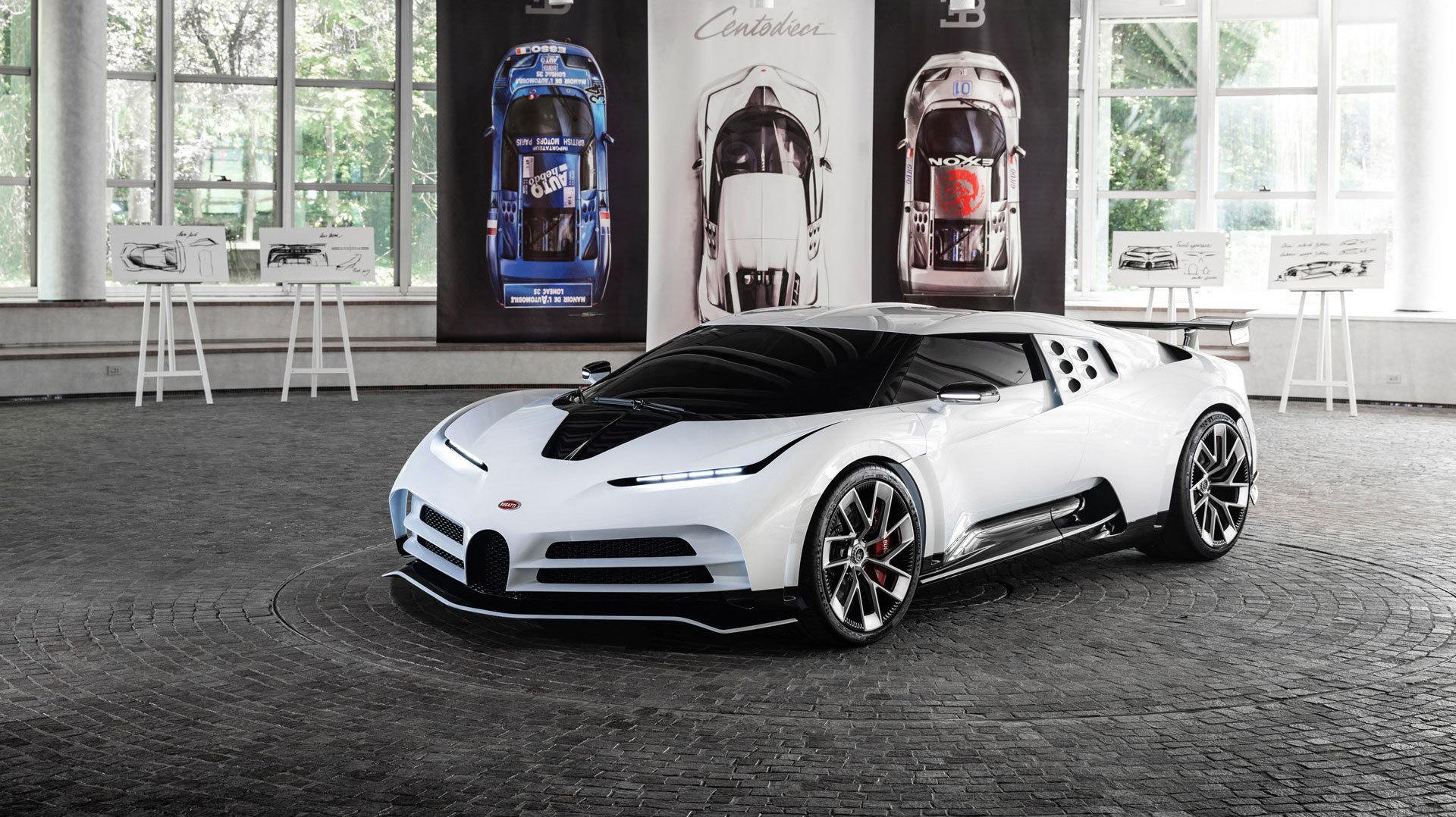 Bugatti Centodieci 40