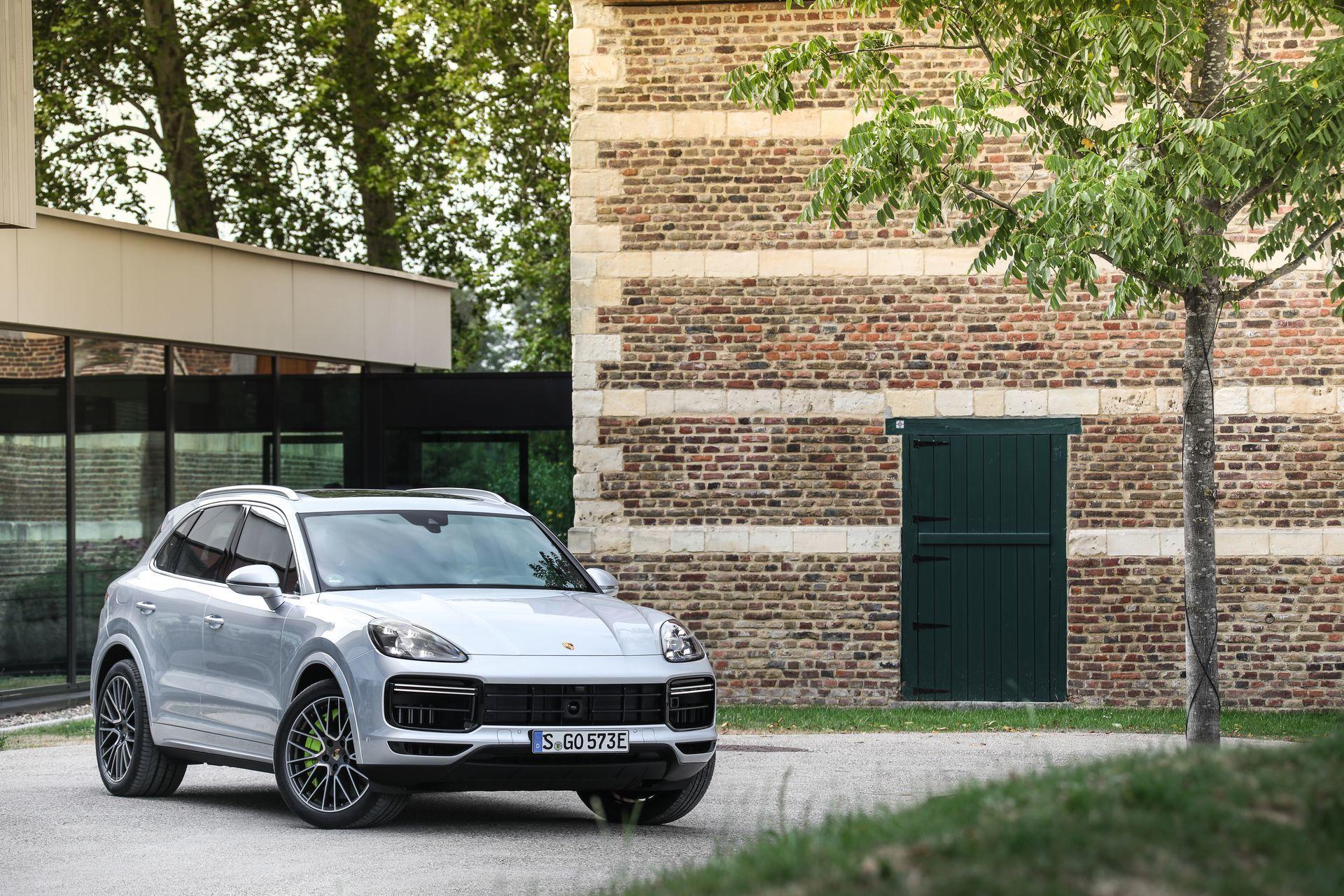 Prueba Porsche Cayenne Turbo S E Hybrid 13