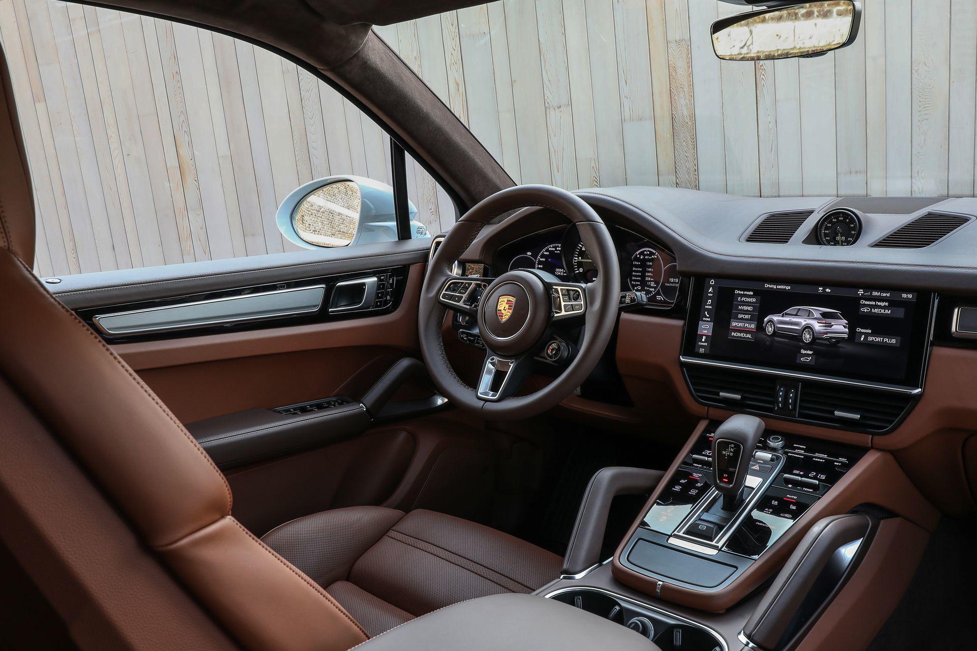 Prueba Porsche Cayenne Turbo S E Hybrid 26