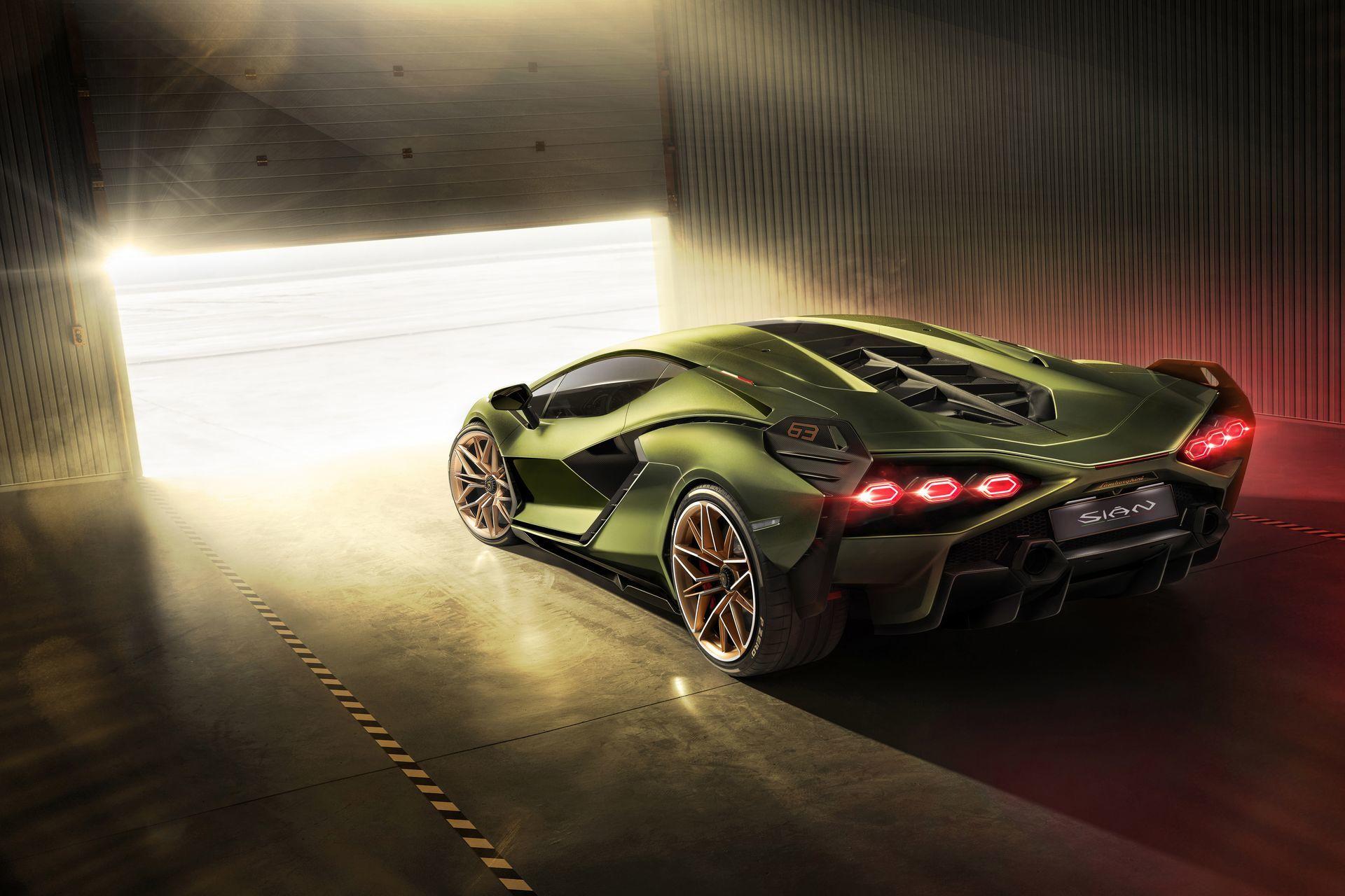 Lamborghini Sian 2020 1