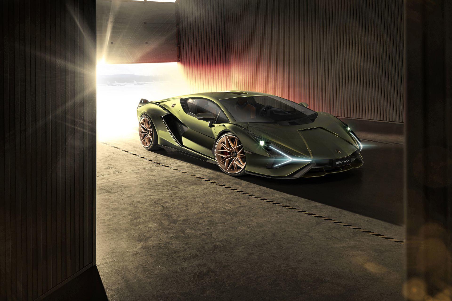 Lamborghini Sian 2020 6