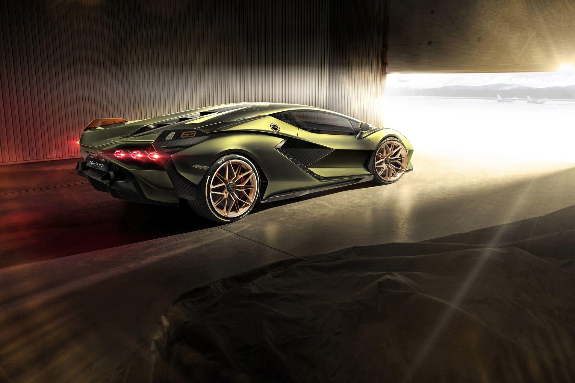Lamborghini Sian 2020 7