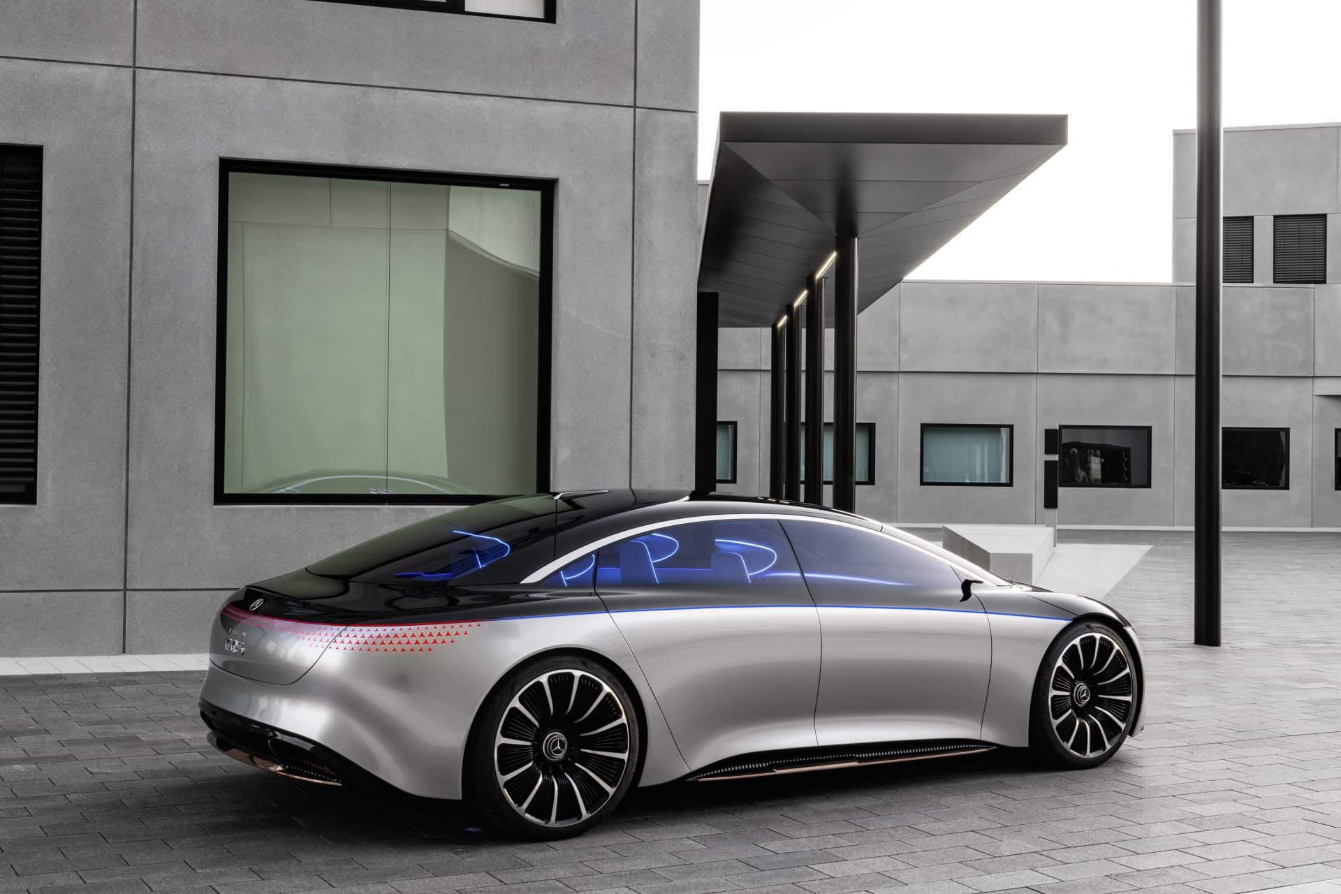 Mercedes Benz Vision Eqs 2019 Mercedes Benz Vision Eqs 2019