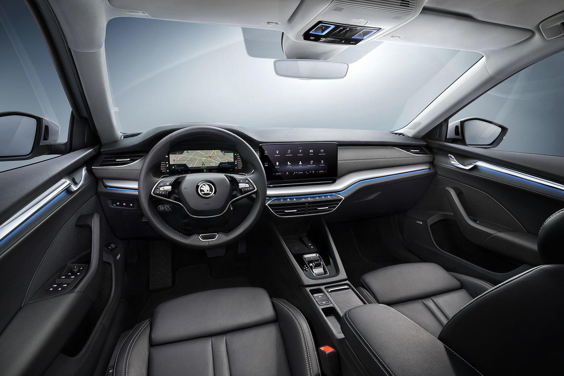 Skoda Octavia 2020 Interior 18