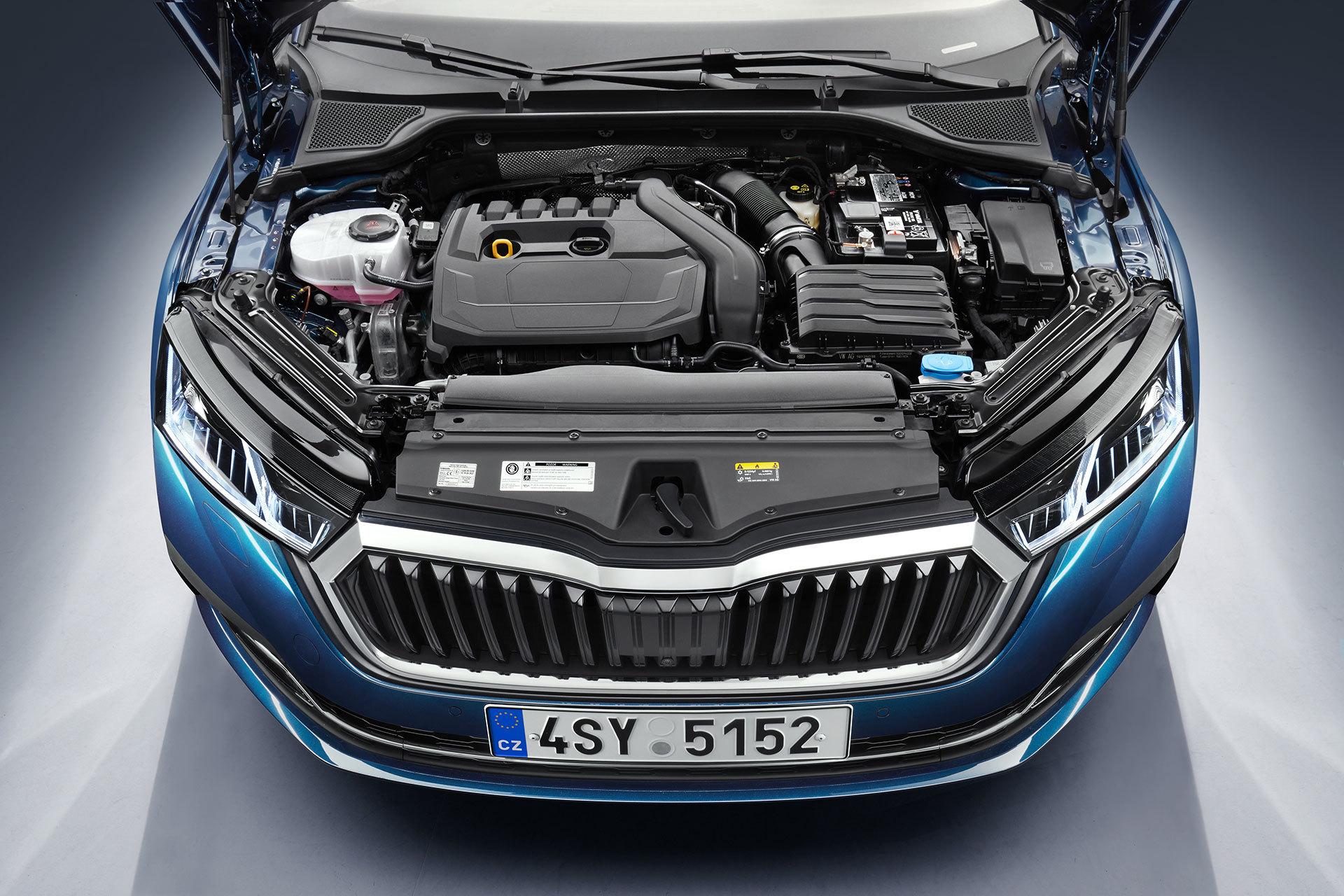 Skoda Octavia 2020 Motor