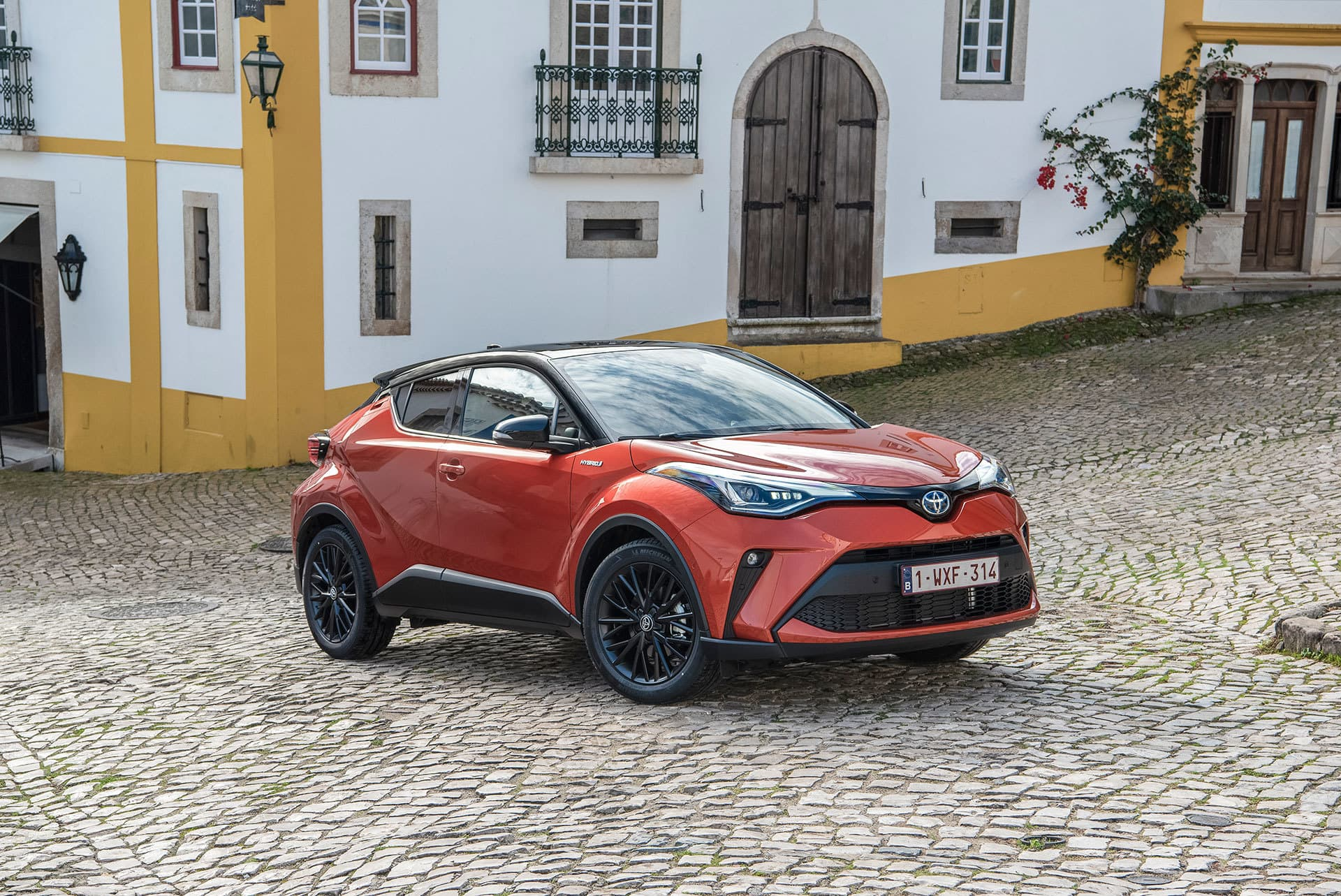 Toyota C Hr 2020 Naranja 12