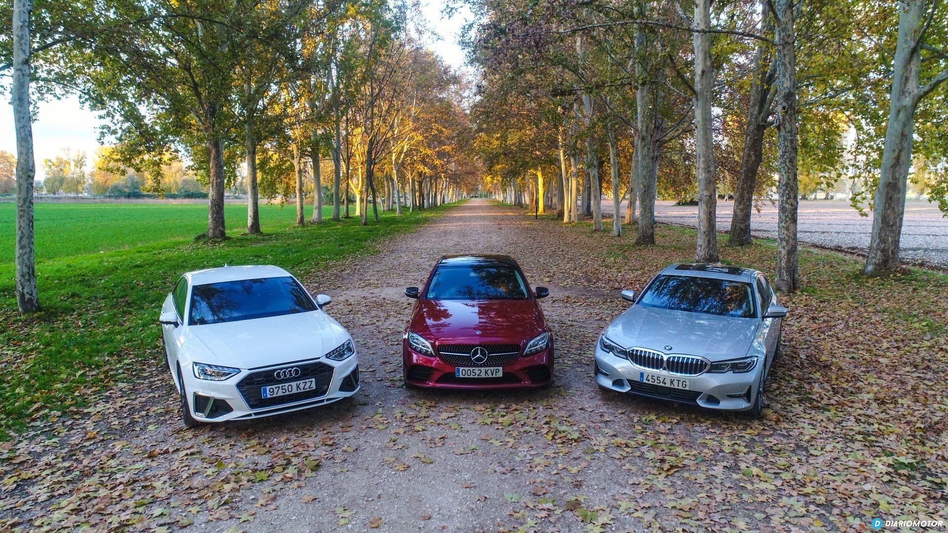 Bmw Serie 3 Vs Audi A4 Vs Mercedes Clase C 1