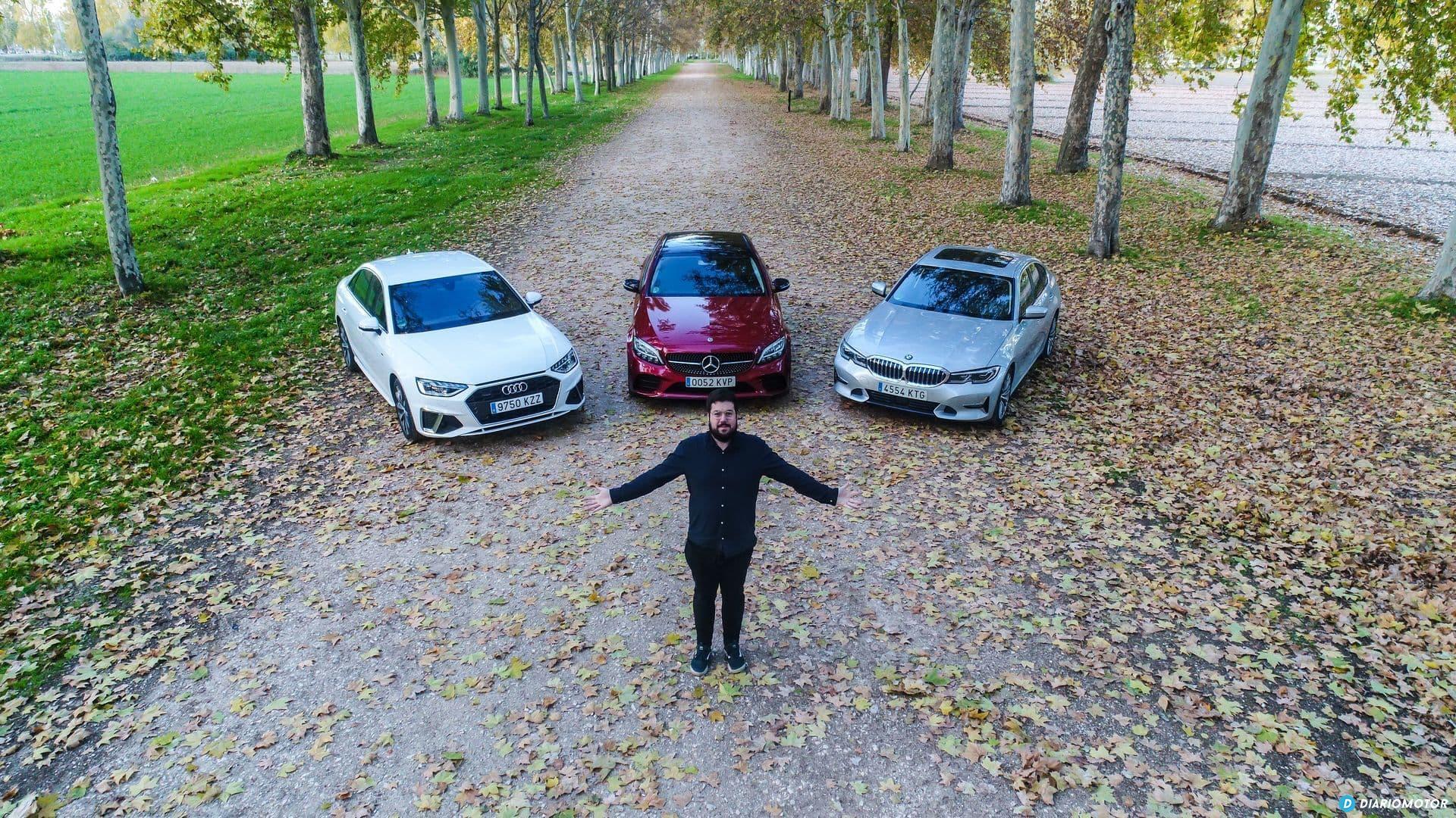 Bmw Serie 3 Vs Audi A4 Vs Mercedes Clase C 2