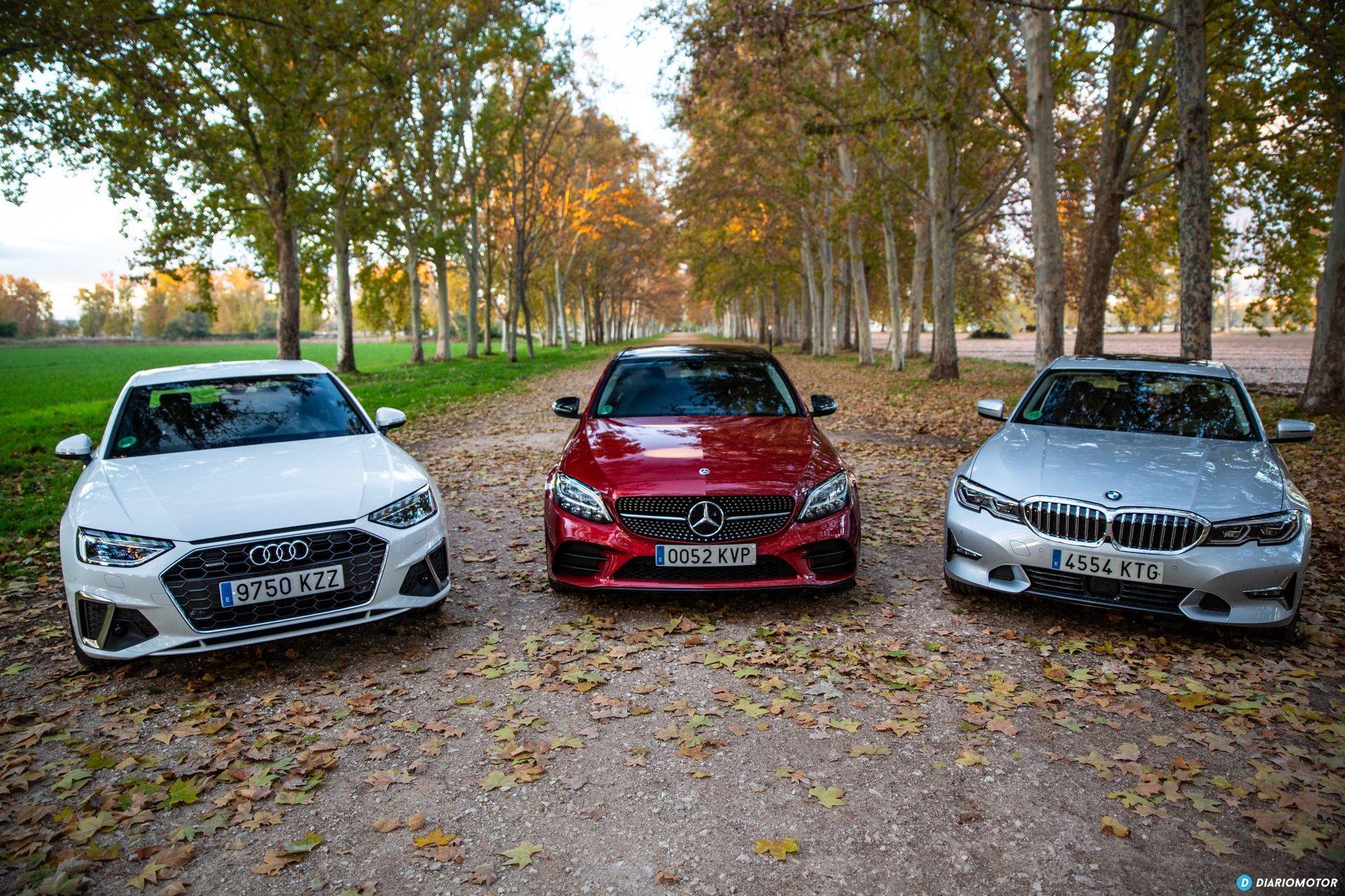 Bmw Serie 3 Vs Audi A4 Vs Mercedes Clase C 3