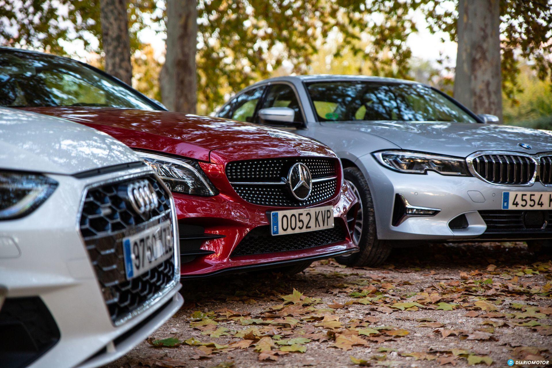 Bmw Serie 3 Vs Audi A4 Vs Mercedes Clase C 4
