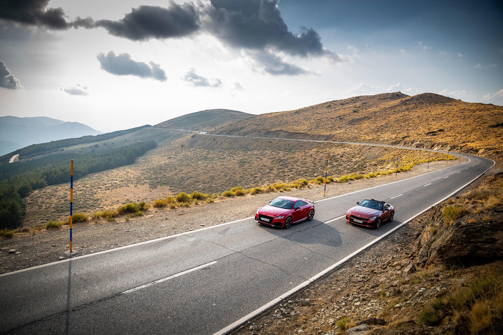 Bmw Z4 Audi Tt Rs 7