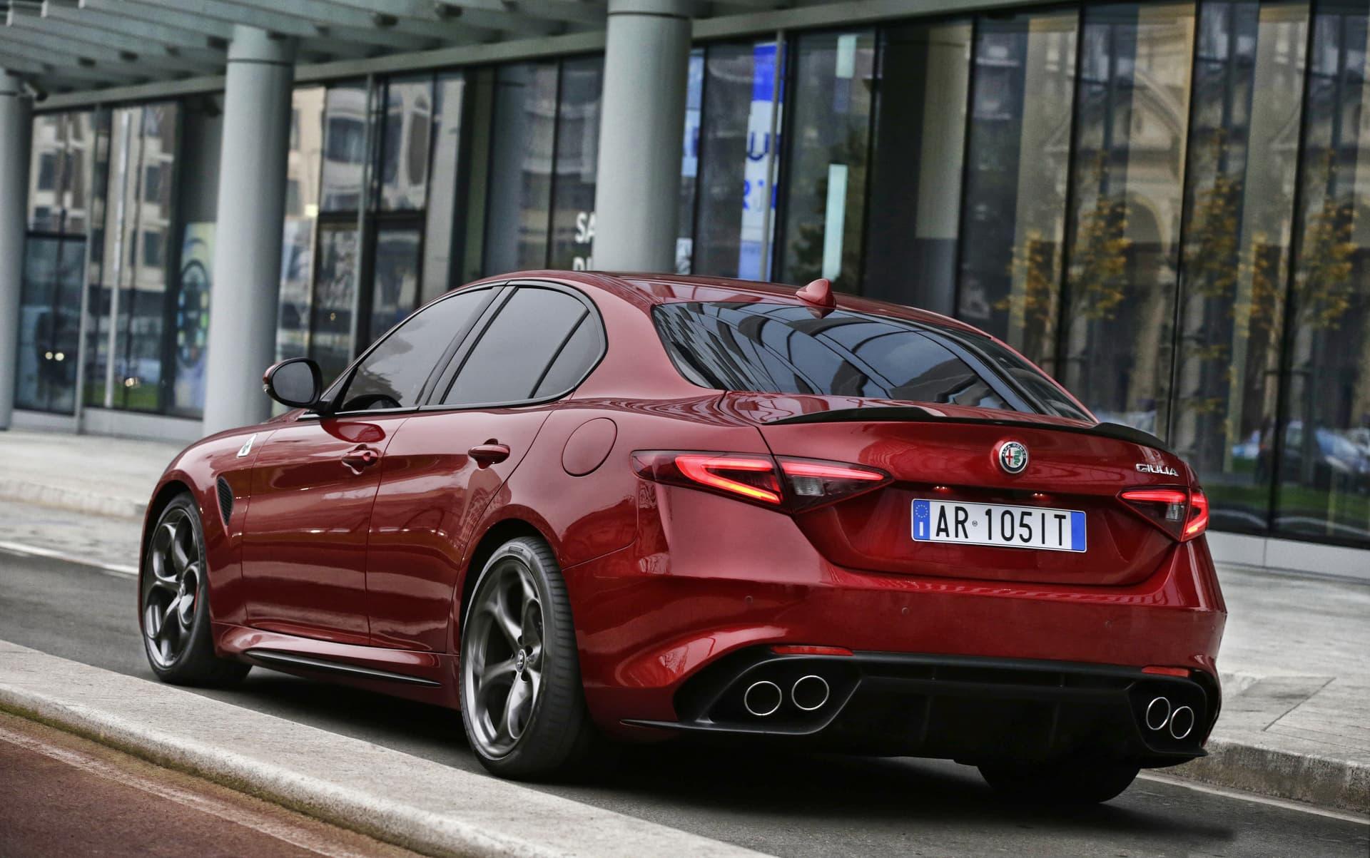 Cambio Convertidor Par Alfa Giulia Qv