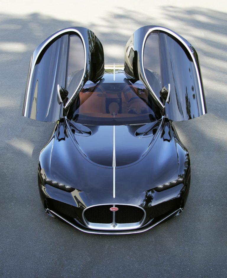 Bugatti Descubre 3 Coches Jamás Antes Vistos