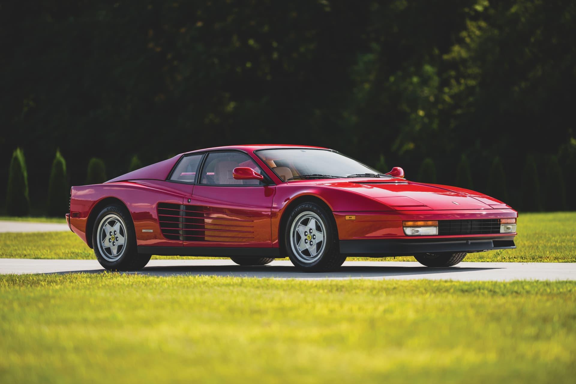 Cuanto Cuesta El Ferrari Testarossa Esta Unidad Ahora Puede Ser Tuya Con Solo 8 430 Km Diariomotor