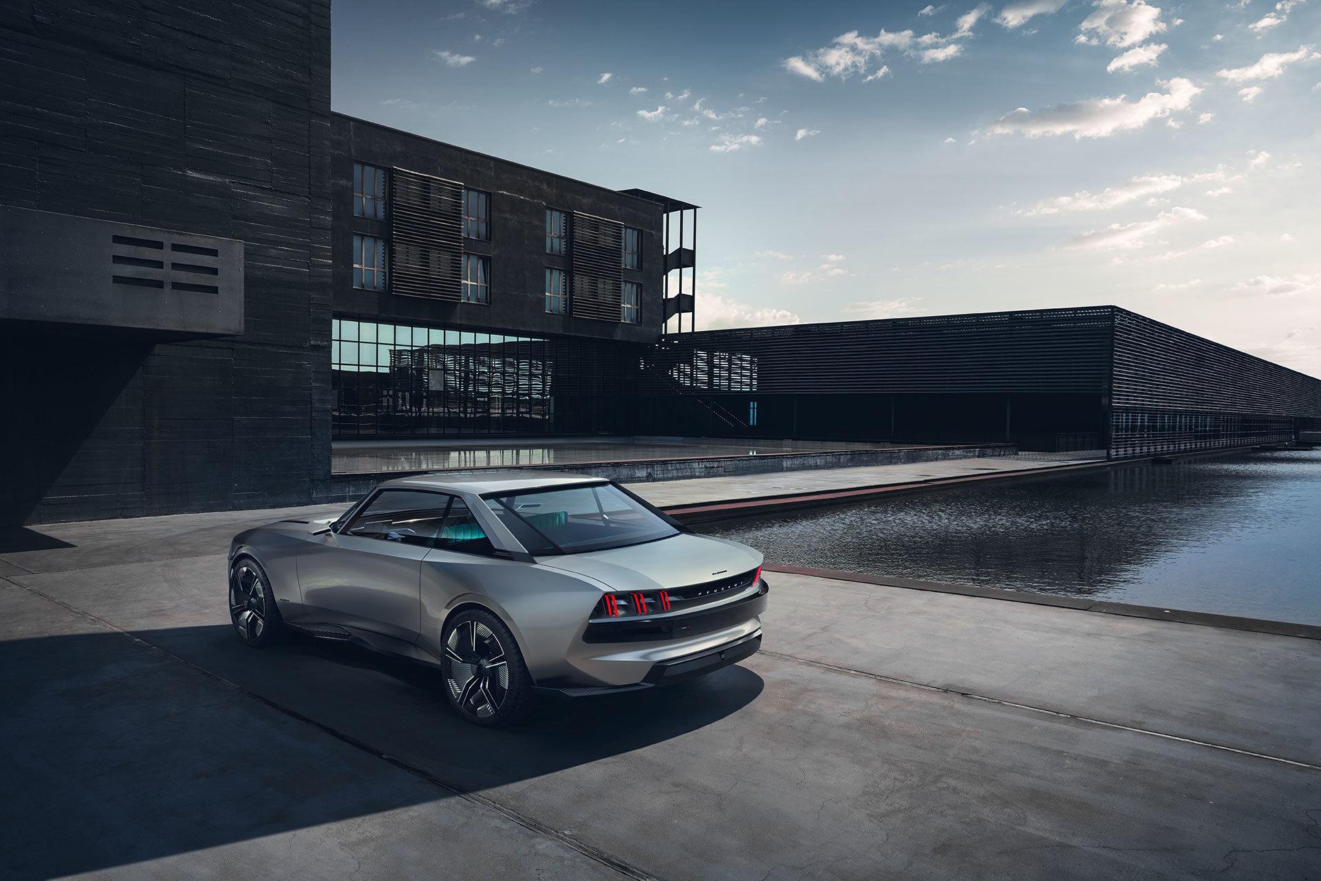 Peugeot E Legend Exterior 15