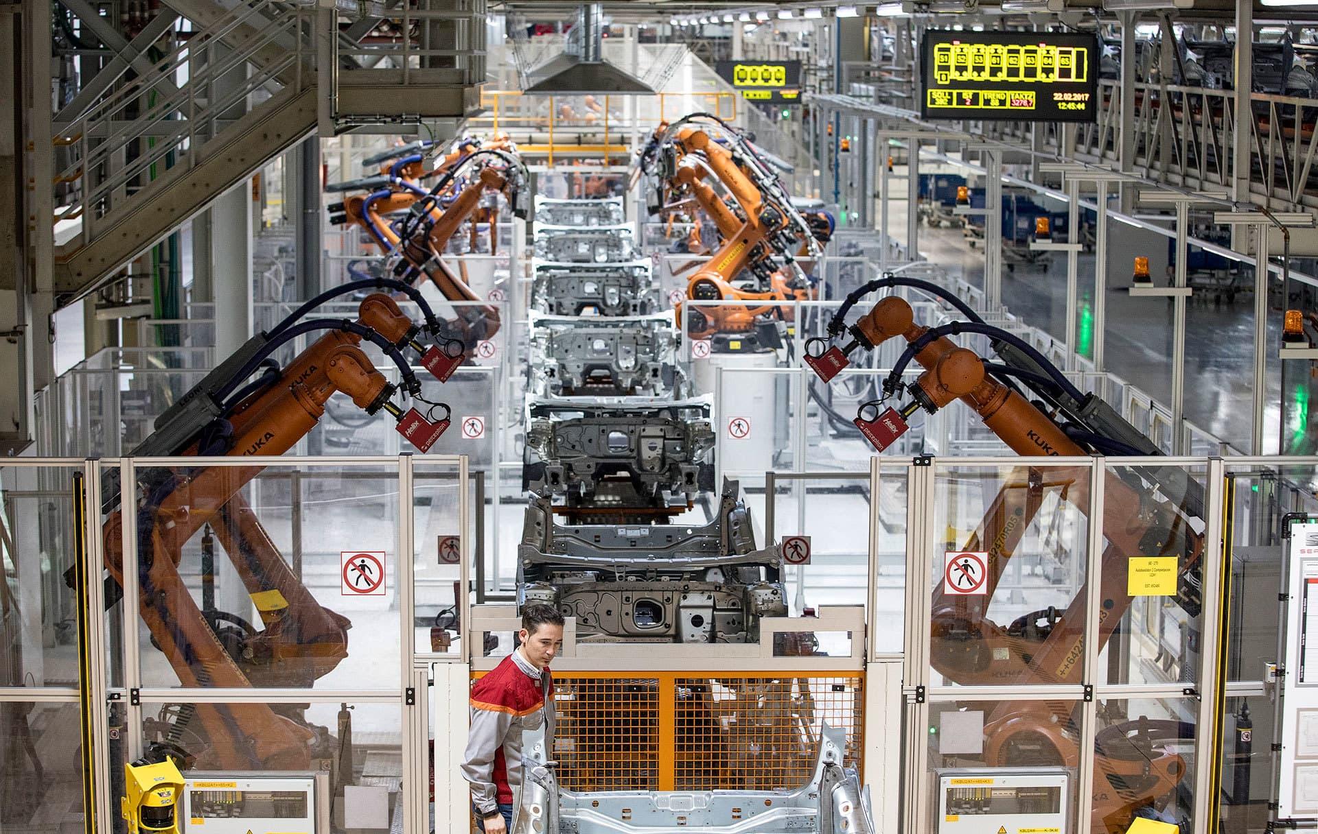 Seat Martorell Fabrica Robots