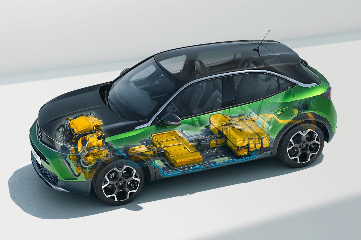 Opel Mokka E 2020 Verde 01