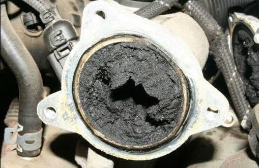 Carbonilla Coche Diesel Egr Taponada