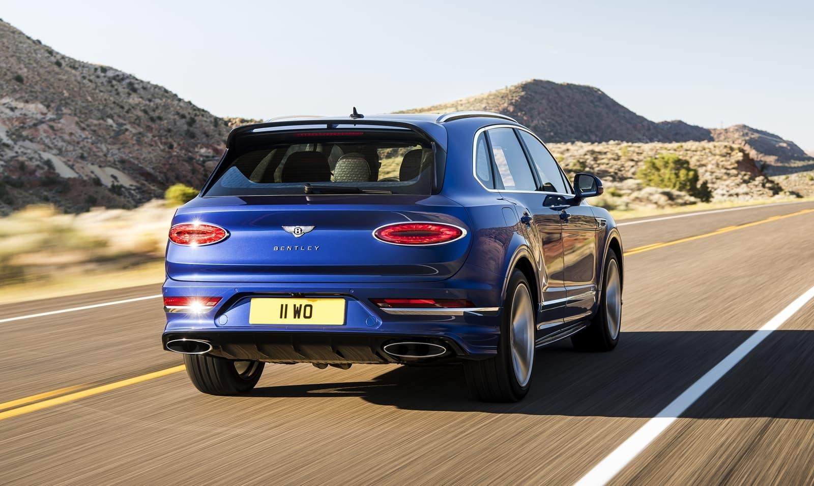 Bentley Bentayga Speed 2021 635 Cv Y 306 Km H Para Seguir Siendo El Suv Mas Rapido Diariomotor