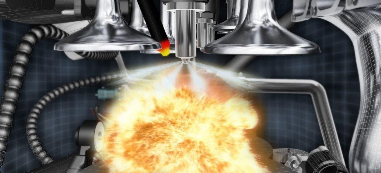 Consumo Elevado Coche Diesel Combustion Cilindro