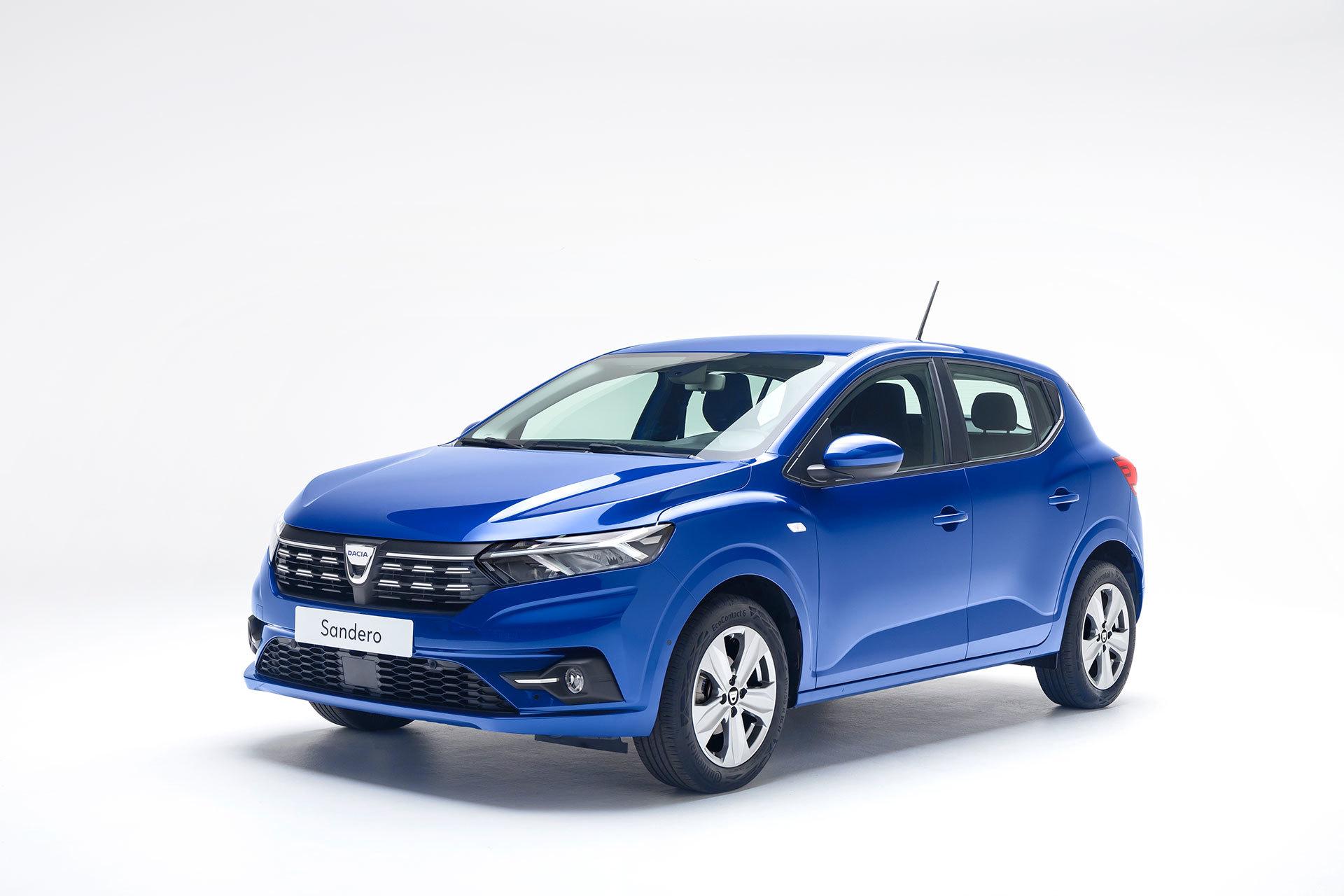 Dacia Sandero 2020 Azul Exterior 01