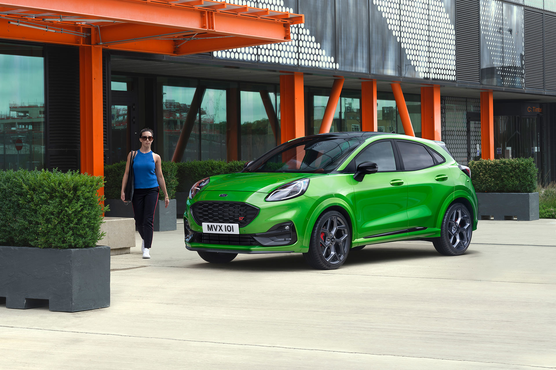 Ford Puma St 2020 Movimiento Verde Mean 13