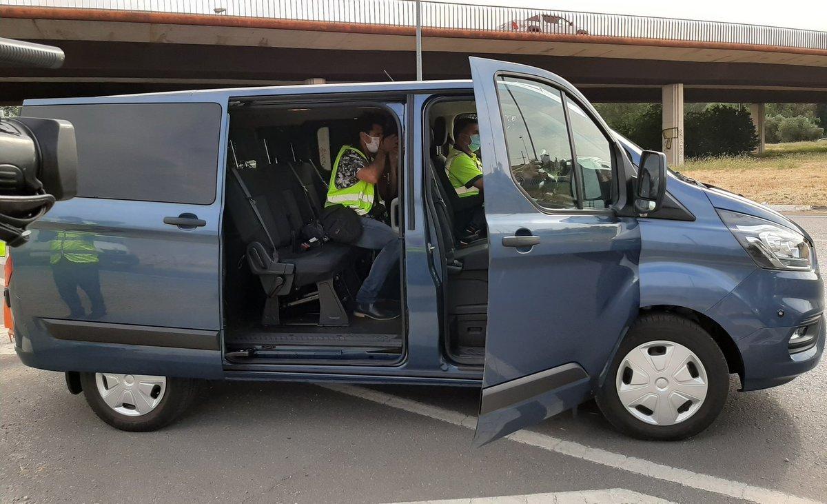 Furgoneta Camuflada Guardia Civil Dgt
