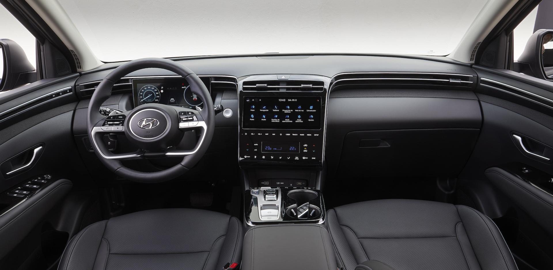 Interior Hyundai Tucson 2020 1