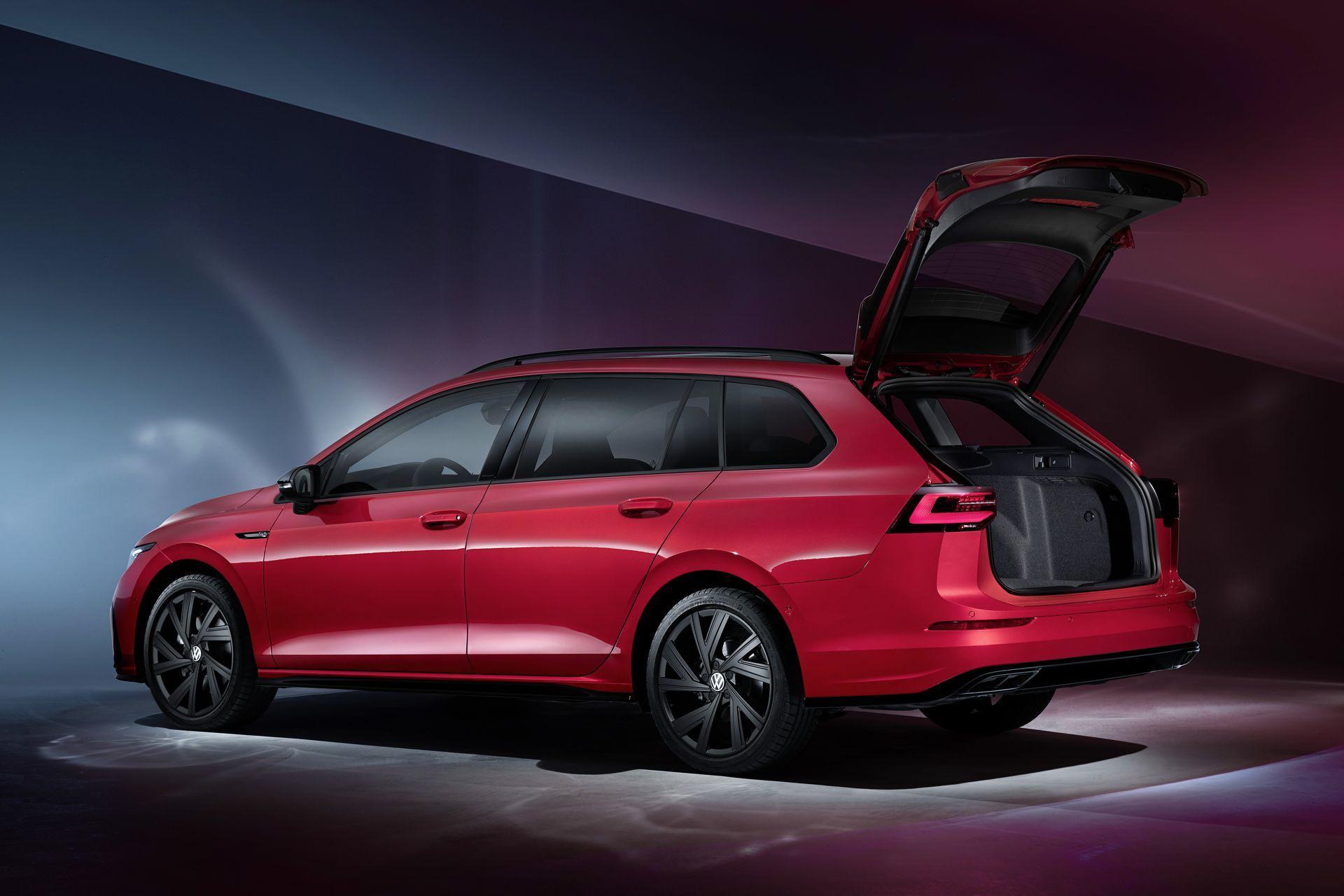 The New Volkswagen Golf Variant R Line