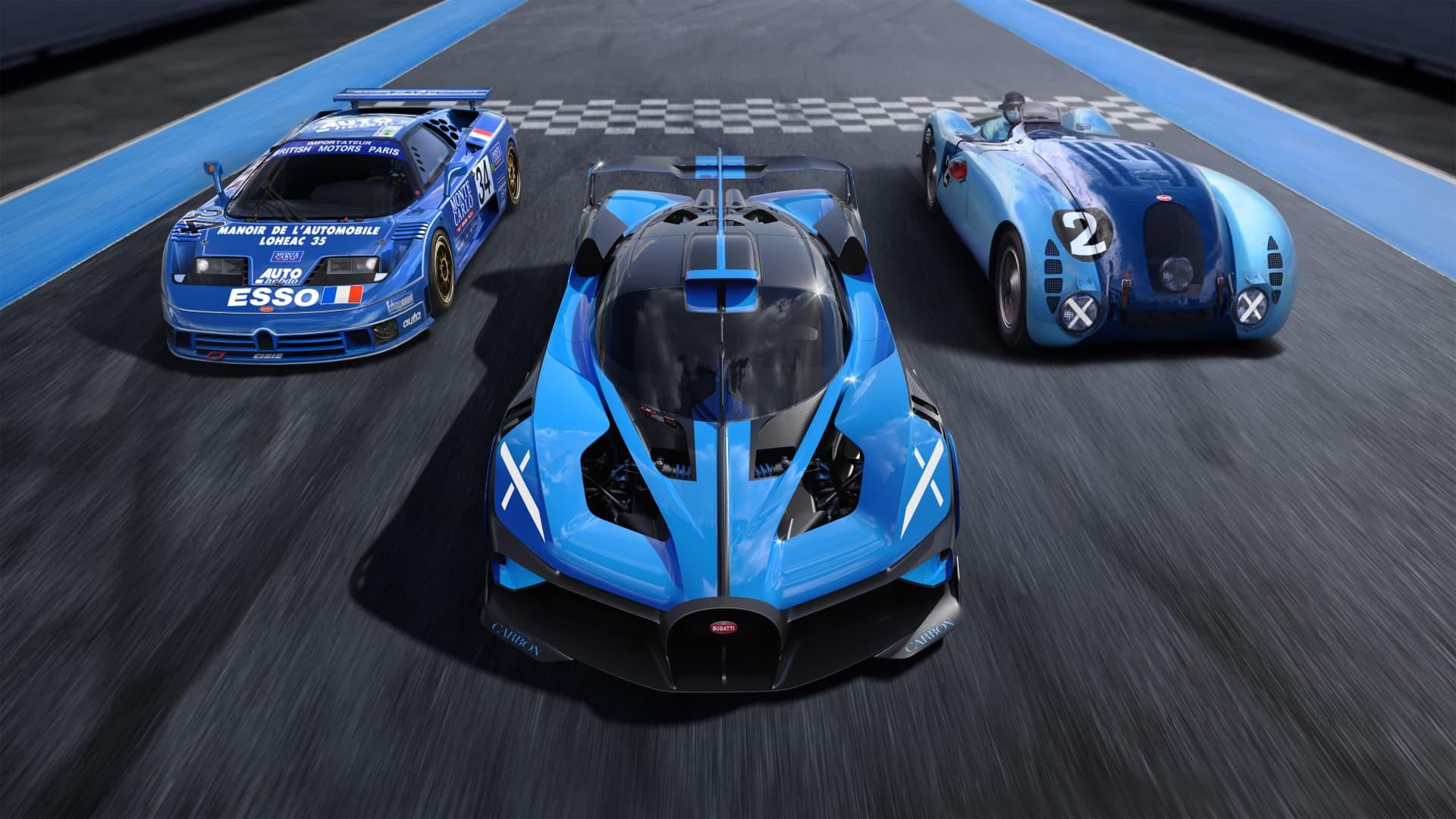 Bugatti Bolide 13