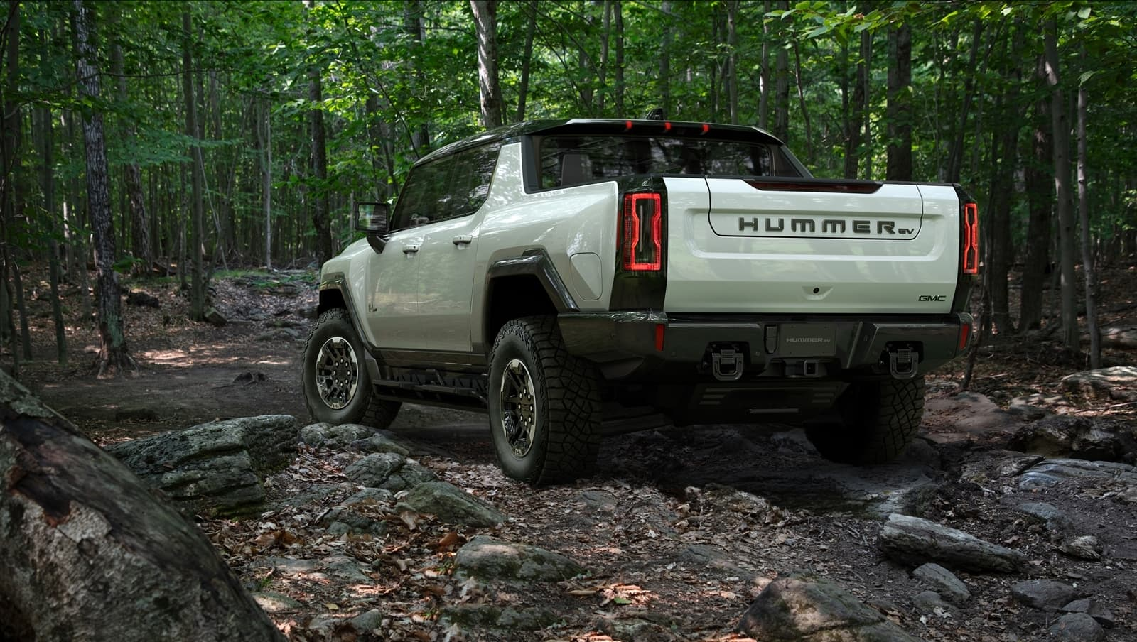 The Gmc Hummer Ev Is Designed To Be An Off Road Beast, With All
