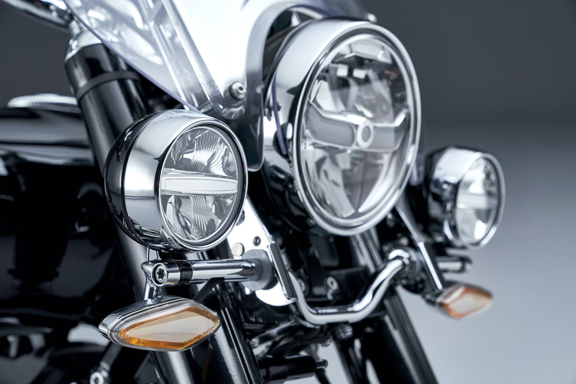 Moto Bmw R18 Classic Luces