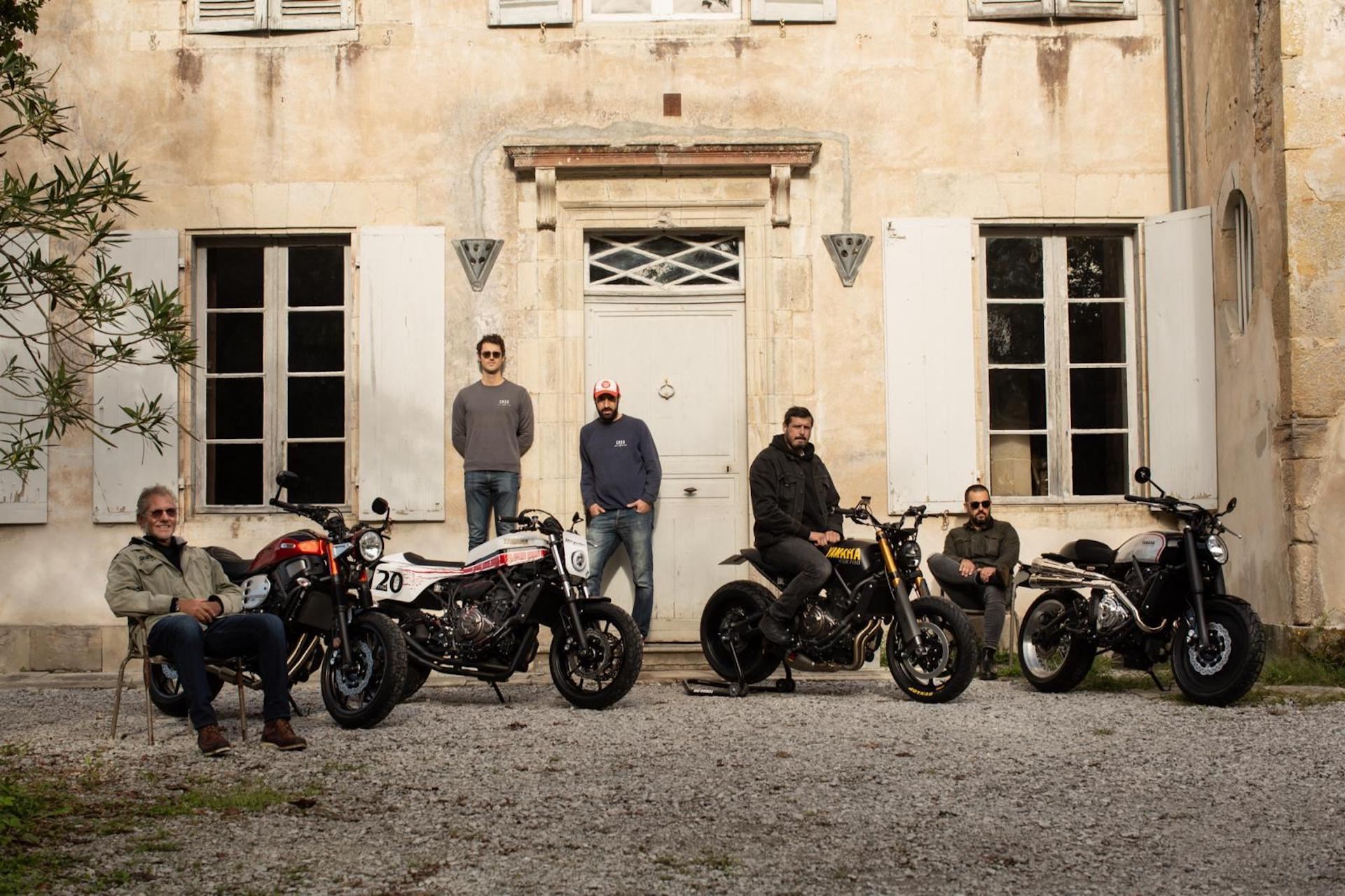 Motos Yamaha Yard Built 2020