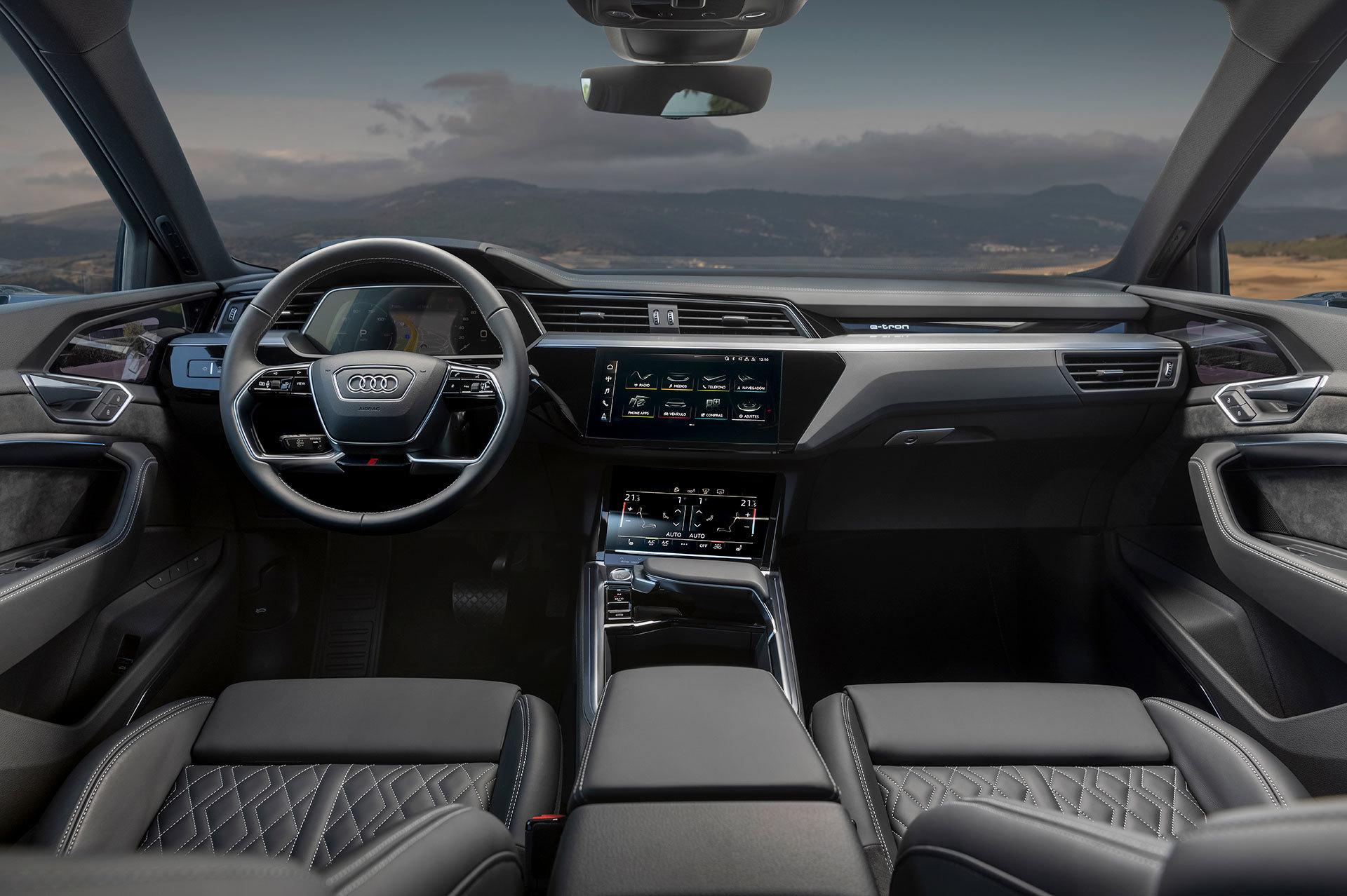 Audi E Tron Sportback 2020 Prueba 13