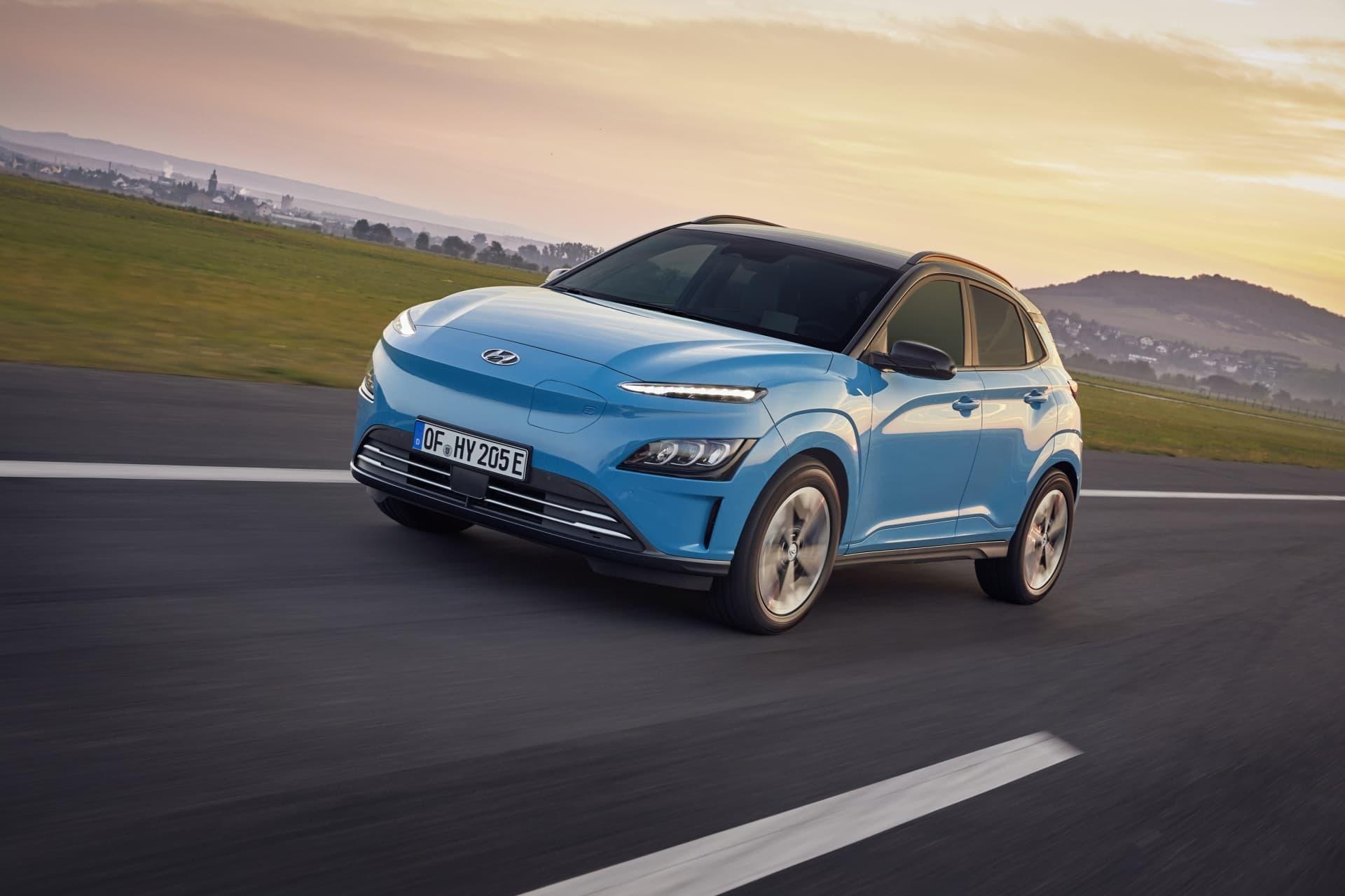 Hyundai Kona Ev Electrico 2021 01