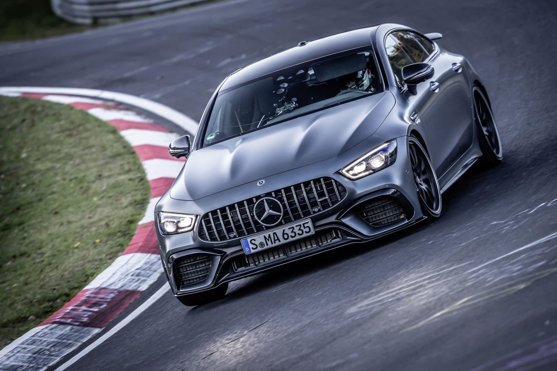 Mercedes Amg Gt 4 Puertas Record Nurburgring 06