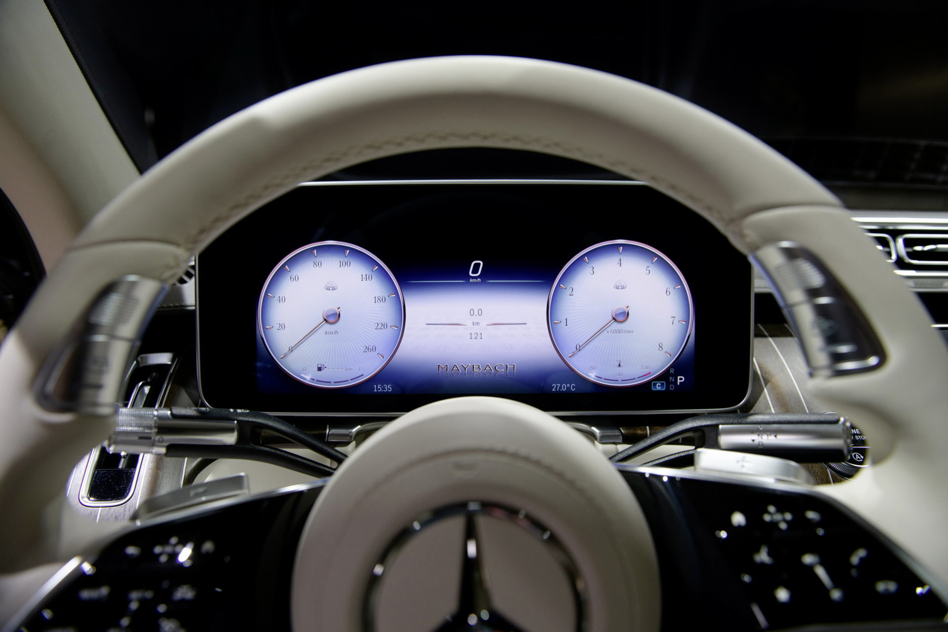 Mercedes Maybach Clase S 2021 151