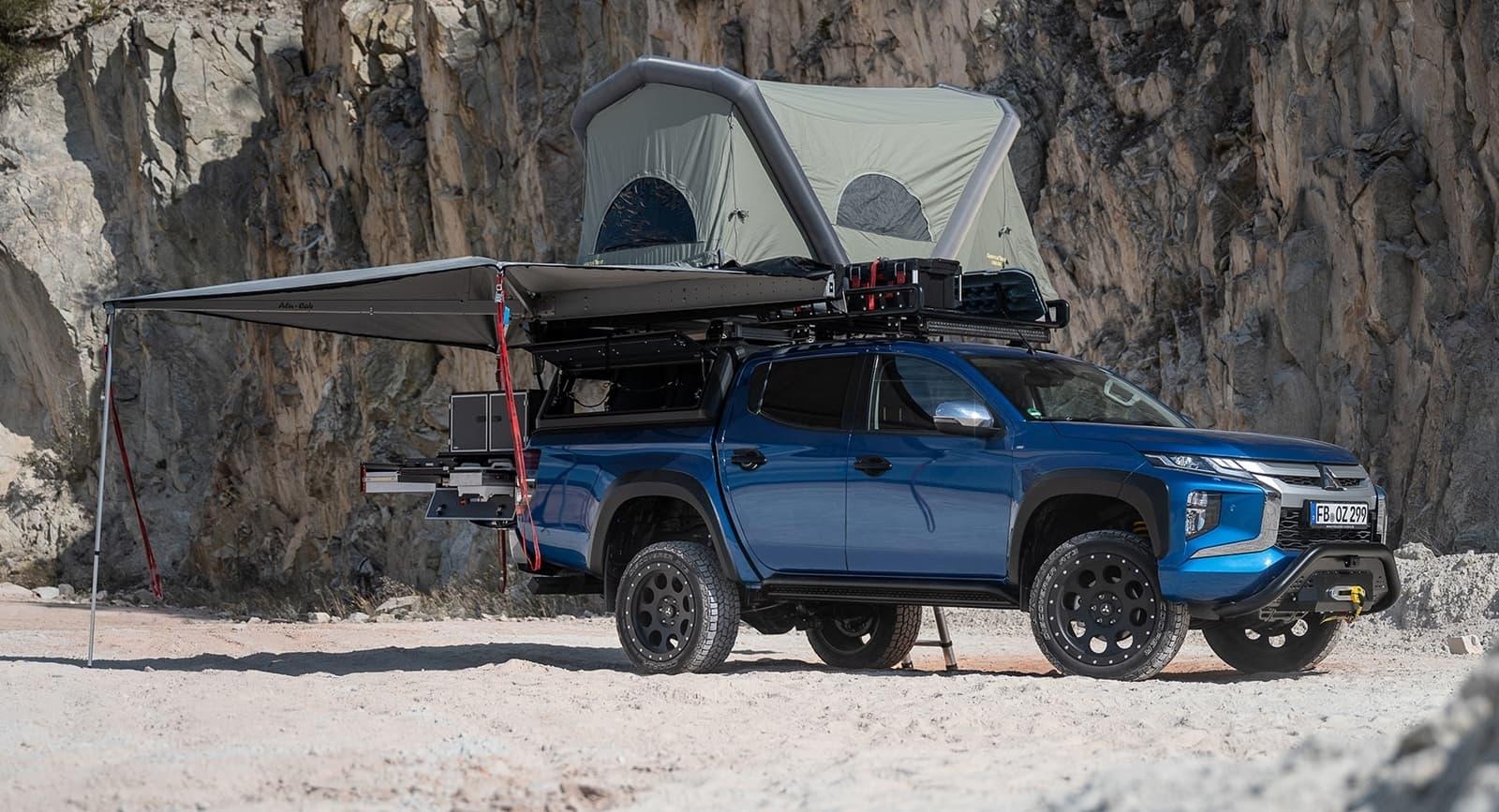 Mitsubishi L200 Camper 1120 001