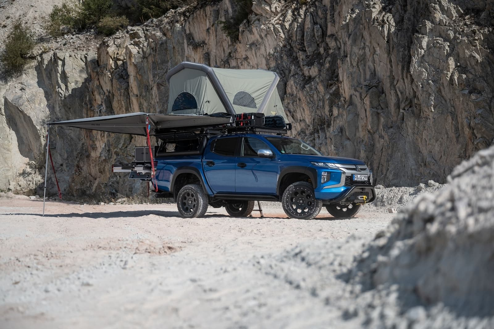 Mitsubishi L200 Camper 1120 006