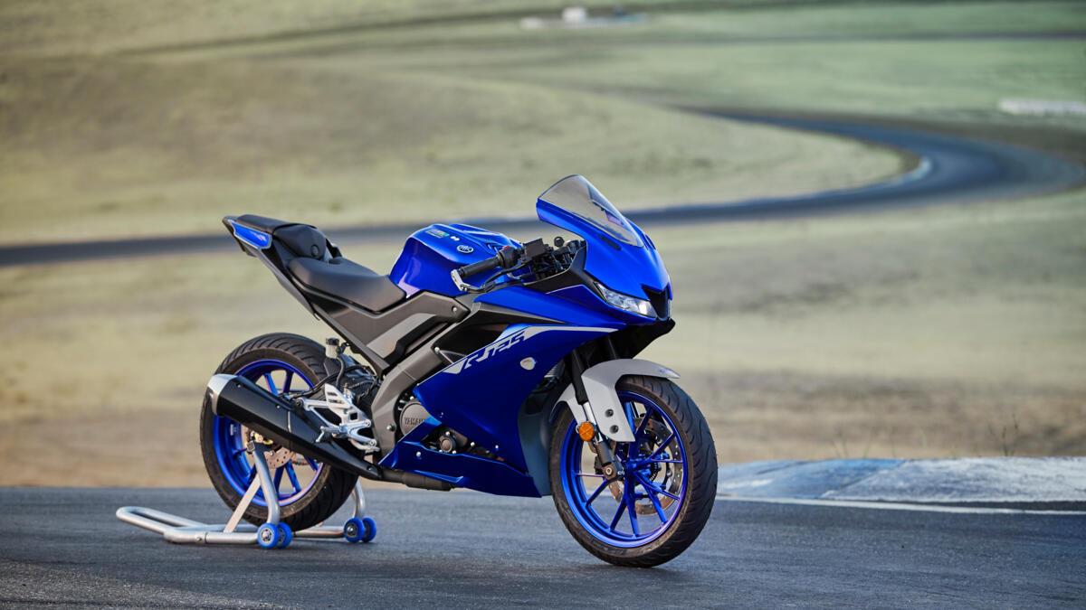Moto 2021 Yamaha Yzf R125 Eu Icon Blue Static 005 03 Tablet