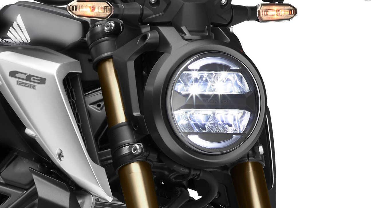 Moto Honda Cb125r Luces