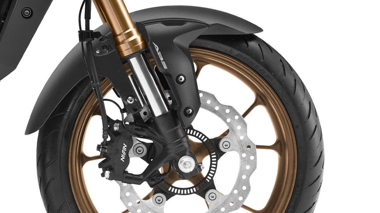 Moto Honda Cb125r Pinzas