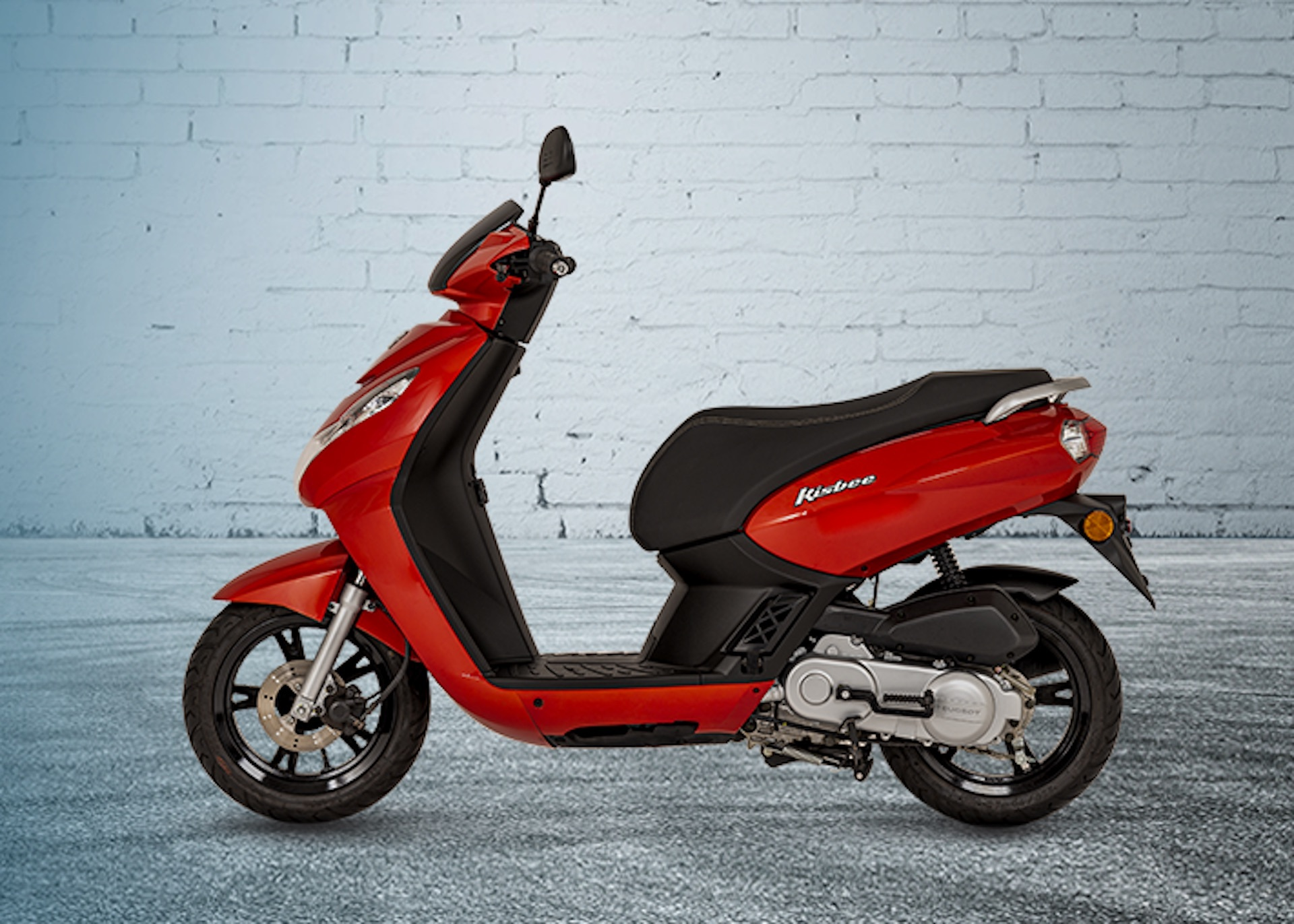 Moto Kisbee Roja