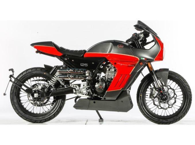 Moto Pagani 125 Rojo 9