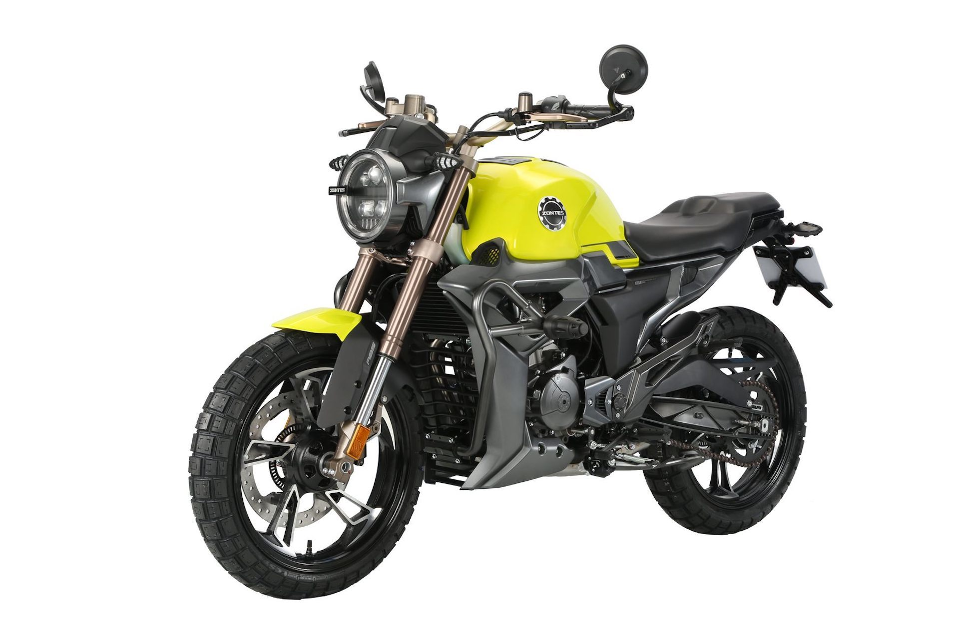Moto Zontes G1 125 Amarillo Alu 3