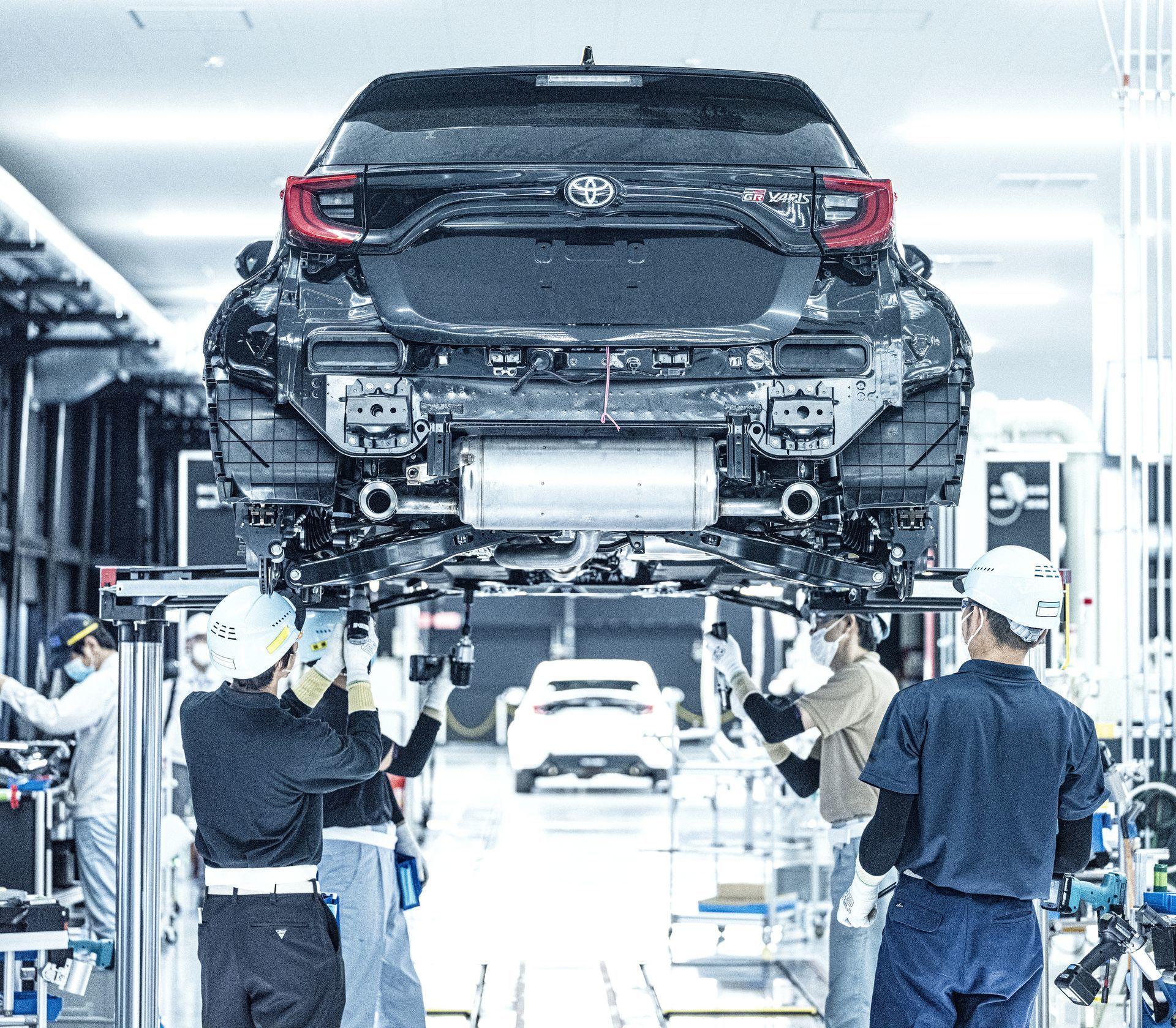 Produccion Toyota Gr Yaris 2
