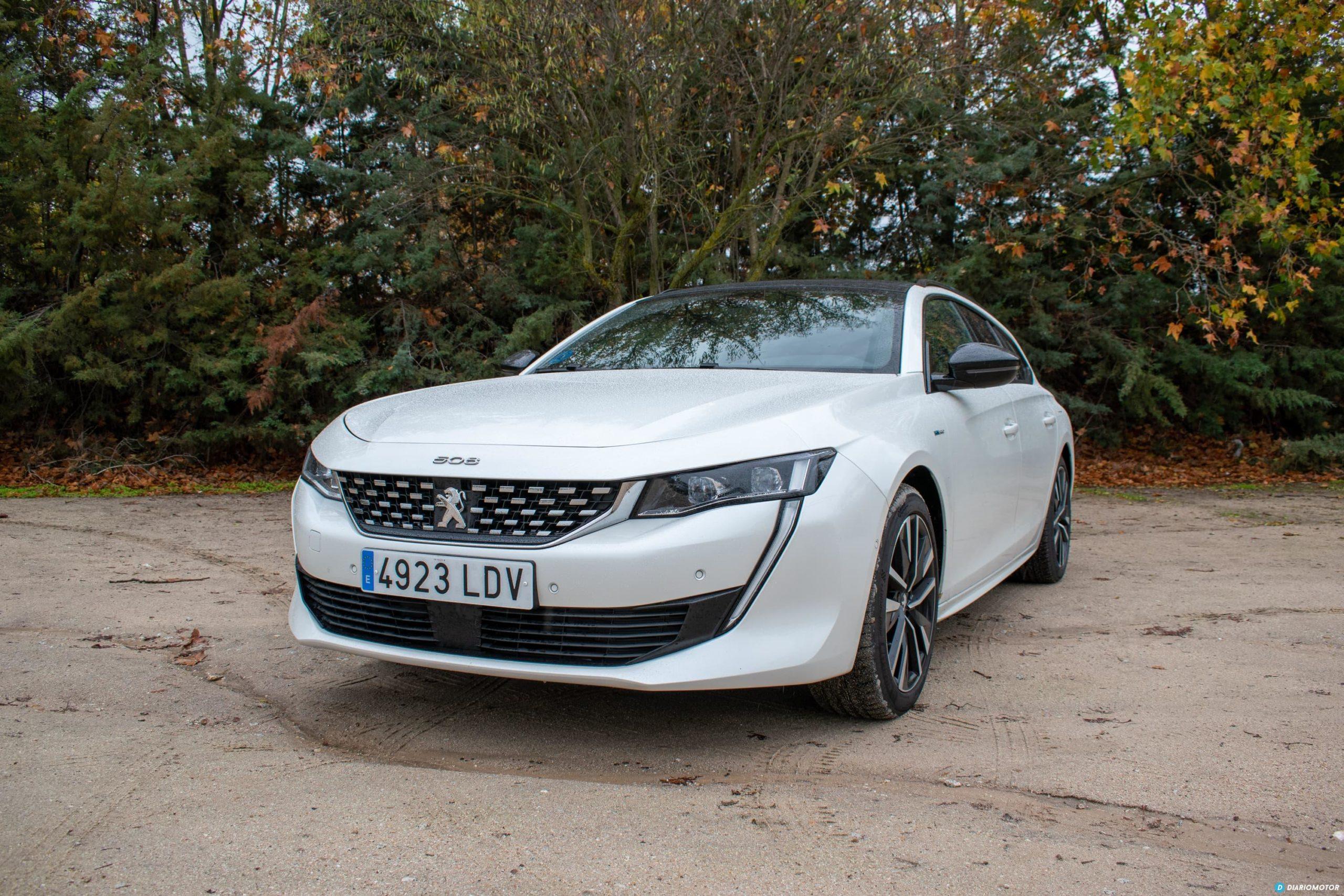 Prueba Contacto Peugeot 508sw Hybrid 1