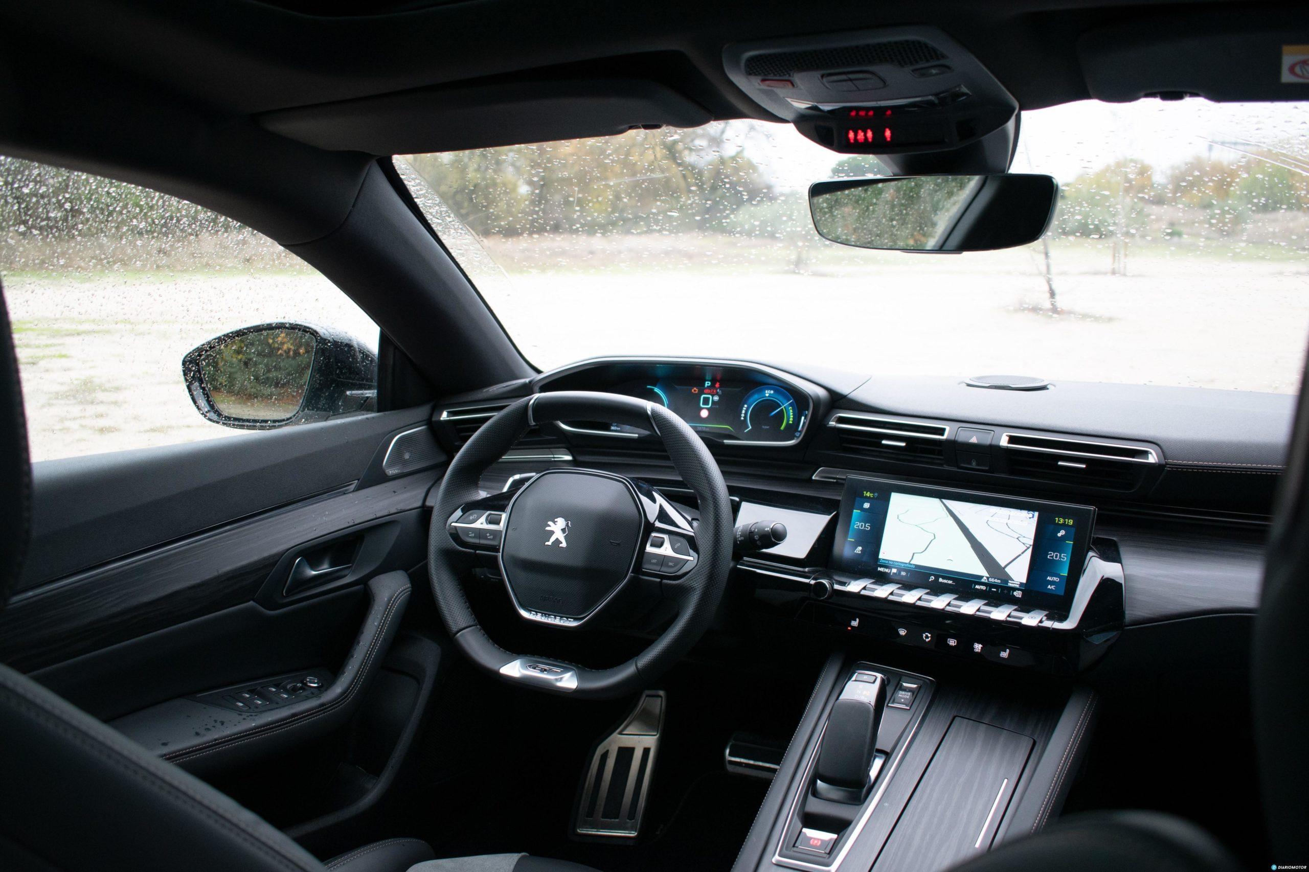 Prueba Contacto Peugeot 508sw Hybrid 15