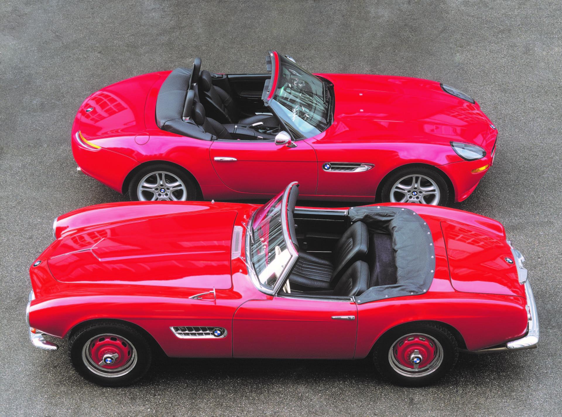 Bmw 507 Roadster Historia Z8