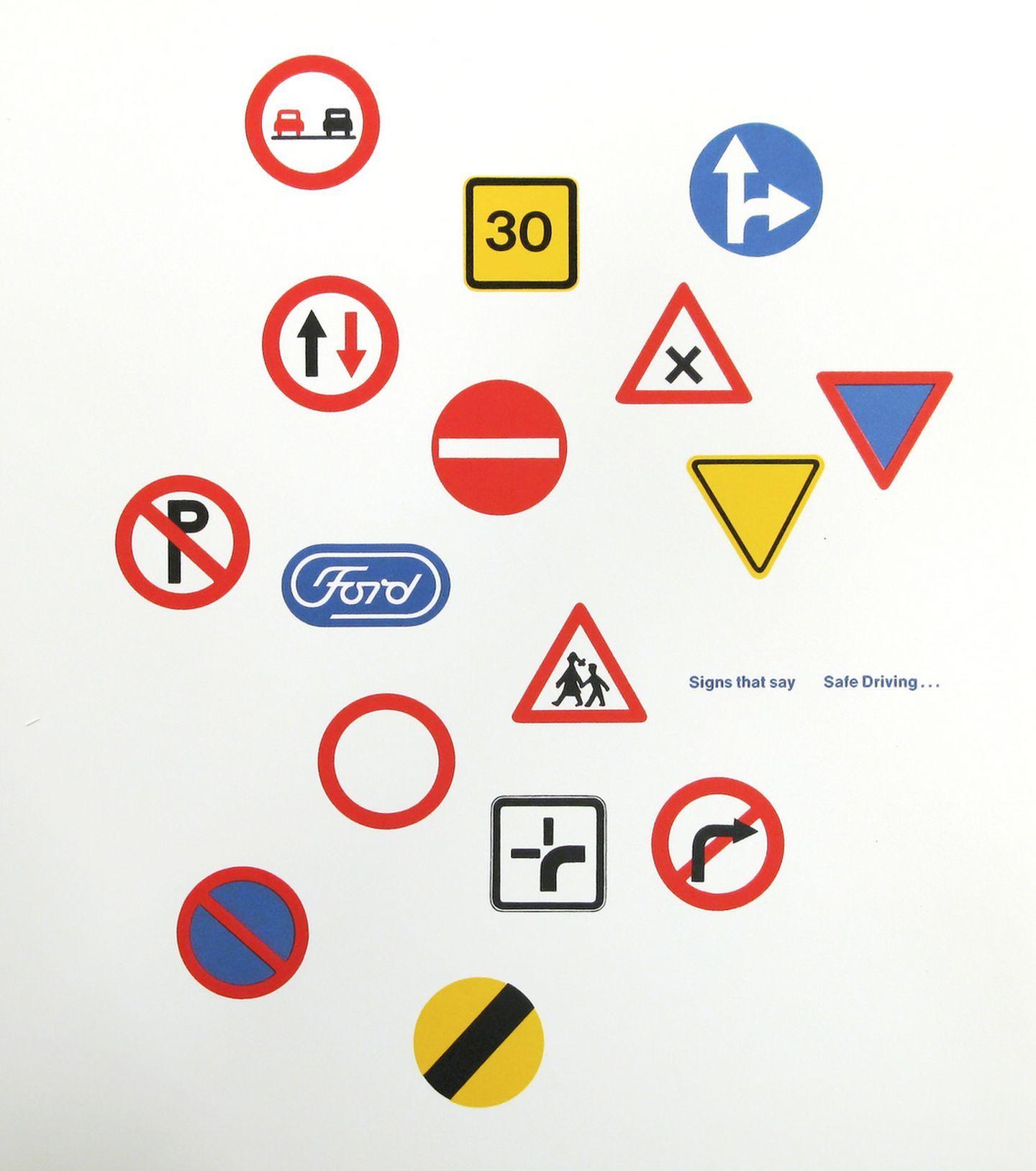 Logotipo Ford Paul Rand 1